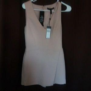Romper/skirt dress